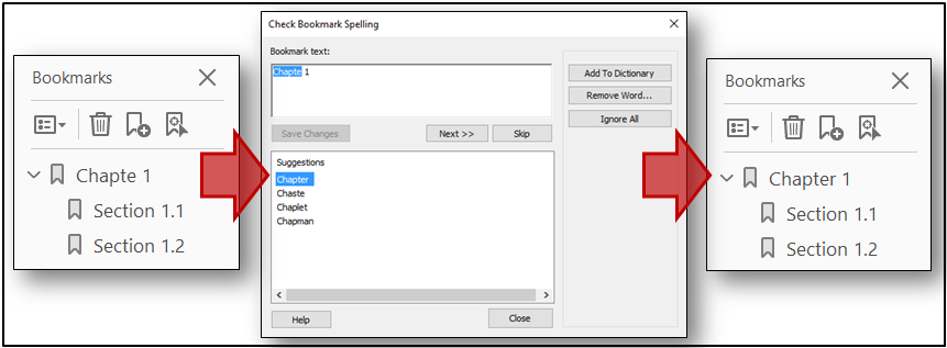 bookmarking a pdf in adobe acrobat