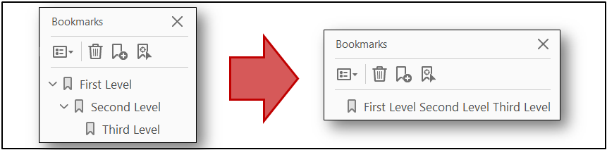 example of pdf with bookmarks